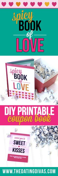 Book of Love This sexy coupon book is the perfect Valentine's Day gift for the hubby. This sexy coupon book is the perfect Valentine's Day gift for the hubby. Diy Crafts For Boyfriend, Gifts For Your Boyfriend, Birthday Gifts For Boyfriend, Boyfriend Stuff, Boyfriend Ideas, Diy Wedding Gifts, Wedding Gifts For Couples, Diy Gifts, Book Of Love