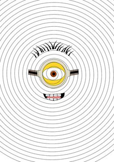 Minion Face T Shirt Inspired SVG and DXF Cut by