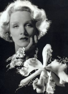 Marlene Dietrich - one of the sexiest voices on film
