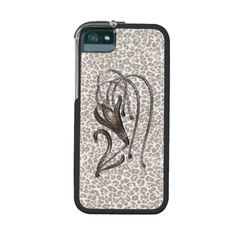 Snow Leopard Lily iPhone 5/5S Case