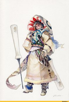 """"""" Brilliant watercolors and designs. Character Design References, Game Character, Character Concept, Concept Art, Fantasy Character Design, Character Design Inspiration, Dnd Characters, Fantasy Characters, Character Illustration"""