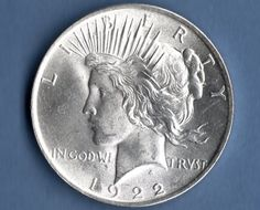 1922 MS Peace Silver Dollar US Coin Money