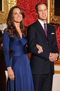 Prince William and Kate Middleton .