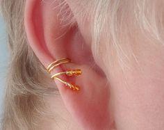 Ear Cuff PairGorgeous Aurora Borealis tiny by TheLazyLeopard