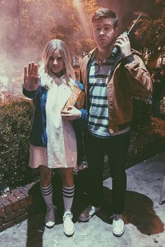 Stranger Things Couple Costume.