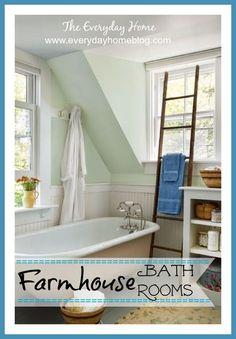 farmhouse bathrooms, bathroom ideas, diy, flooring, home decor, how to, repurposing upcycling, Six Elements of a Farmhouse Bathroom