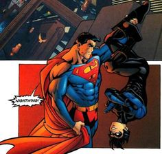 AWE!!!! Dick and Supes! || Nightwing and Superman