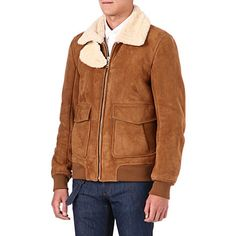 alexander mcqueen tan/ivory shearling jacket, kind of nice £3,725.00