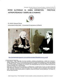 Peter Sloterdijk, Memes, Madrid, Animal, Socialism, Social Science, Journals, University, December