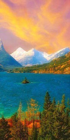 Saint Mary Lake ~ Montana.