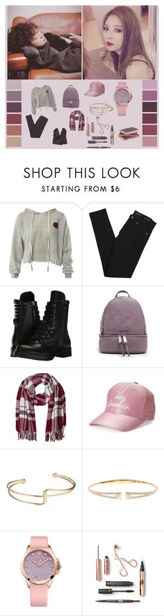 """""""chanyeol-hyuna"""" by chanbaek614 ❤ liked on Polyvore featuring Sans Souci, Yves Saint Laurent, Capezio, Michael Kors, M&Co, madden NYC, Nadri and Juicy Couture"""