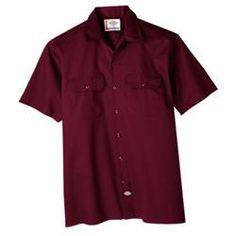 Aged Brick Short Sleeve Work Shirt   $21.00
