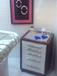 Detalle gabinete dental