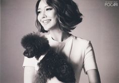 SNSD Sooyoung  for The celebrity magazine ...... The concept Sooyoung chose that's most like her current self was an animal lover ('I did think that I should have chosen a pretty and cool concept like the other members.') .... my bias <3