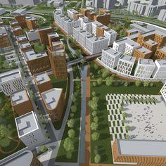 Site Plans, Urban Planning, Urban Design, City Photo, Russia, Environment, How To Plan, Landscape, Architecture