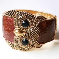 Owl Bracelet.