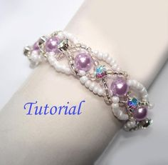 Tutorial Infinity Entwined Bracelet and Ring Set