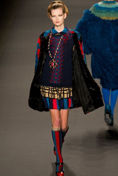 Anna Sui Fall 2013 Collection Photographed by VITAL AGIBALOW