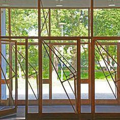 Alvar Aalto - Viipuri library. Doors