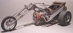 V8 trike - Scale Auto Magazine - For building plastic & resin scale model cars, trucks, motorcycles, & dioramas