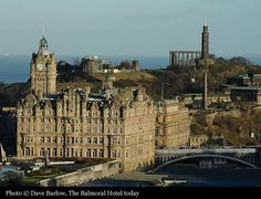 U.K. Scotland. The Balmoral Hotel(1902), Edinburgh