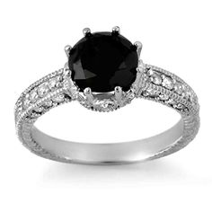 Gallery Collection Of images of wedding rings black diamond engagement rings Pink Diamond Wedding Rings, Pink Diamond Ring, Black Wedding Rings, Celtic Wedding Rings, Wedding Rings For Women, Wedding Yellow, Engagement Rings 2014, Expensive Engagement Rings, Blue Nile