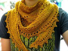 Knit Lionberry Shawl free pattern