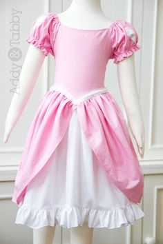 Ariel in pink, dressup Everyday Princess girls boutique dress / costume