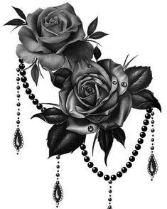Cute Tattoos, Leg Tattoos, Beautiful Tattoos, Body Art Tattoos, Sleeve Tattoos, Amazing Tattoos, Tatoos, Rosen Tattoo Frau, Rosen Tattoos
