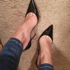 Love love love my new Iriza Loubies! they are 100s but the cut makes them look higher. Much more comfy than So Kate. I want the yellow ones.