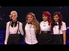 Little Mix perform 'Don't Let Go', week 8 of The Xfactor UK
