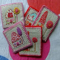 Sweet little house Embroidery