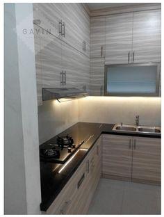 desain kitchen set minimalis modern gavin serpong