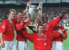 In pictures: Manchester United's amazing comeback against Bayern Munich in 1999 - Manchester Evening News