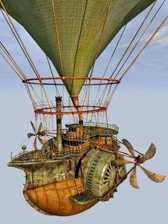 Flying Machine Steampunk Ship, Arte Steampunk, Steampunk Festival, Steampunk Design, Steampunk Fashion, Les Inventions, Steampunk Illustration, Steampunk Gadgets, Neo Victorian