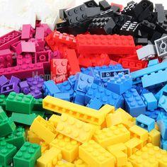 1000Pcs Building Bricks Set City DIY Creative Brick Toys For Child Educational Building Block Bulk Bricks Compatible With legoes