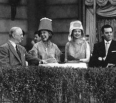 'Lucy in Paris' ~ Fred Mertz, Ethel Mertz, Lucy Ricardo and Ricky Ricardo (William Frawley, Vivian Vance, Lucille Ball and Desi Arnaz)