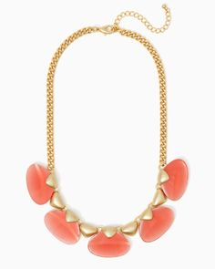 Mystical Mermaid Necklace | UPC: 410007435338 Coral, Pink, Blush, COTM
