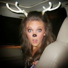 OMG why am I not going as a bebe deer!!!! Sassy Style: 15 Awesome DIY Halloween Costumes