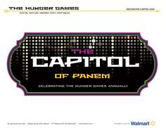 """The Hunger Games: """"Capitol Inspired"""" Dessert Table"""