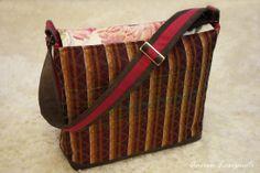 messenger bag Messenger Bag, Handmade, Bags, Fashion, Handbags, Moda, Hand Made, Fashion Styles, Fashion Illustrations