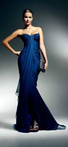 Zuhair Murad stunning blue