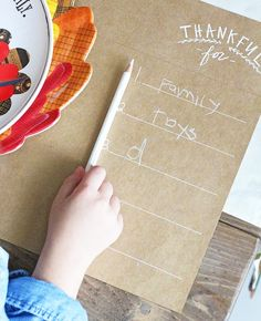 The perfect kid-friendly Thanksgiving DIY
