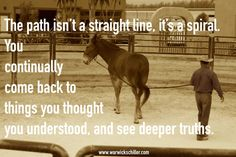 29 trendy Ideas for horse training quotes natural horsemanship Training Quotes, Horse Training Tips, Horse Tips, Cowboy Quotes, Horse Quotes, Rodeo Quotes, Equine Quotes, Horse Sayings, Warwick Schiller