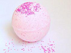Bath Bomb Pink Sugar Mega Size, Bath Bomb Moisturizing, Pink Sugar Bath Bomb, Holiday Gift Ideas, Gifts For Her