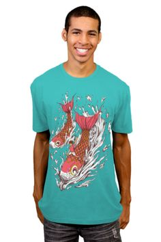 b946928e Ride With Koi T-shirt by StevenToang from Design By Humans. Ride With Koi