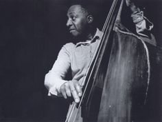 Milt Hinton at Ike Quebec's It Might As Well Be Spring session, in 1961