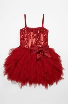 Ooh! La, La! Couture 'Wow' Sequin Tutu Dress (Little Girls & Big Girls) | Nordstrom