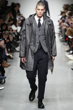 Oliver Spencer Fall 2017 Menswear Collection Photos - Vogue