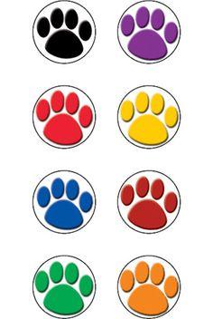Paw Prints Mini Sticker (Set of 4)